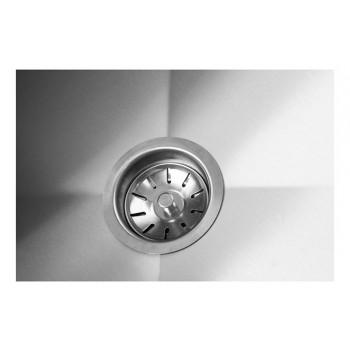 Ralo - Mesa Bancada Aço Inox com Paneleiro e Cuba 50x50x30 (Direito) 100x70x90 - Brascool