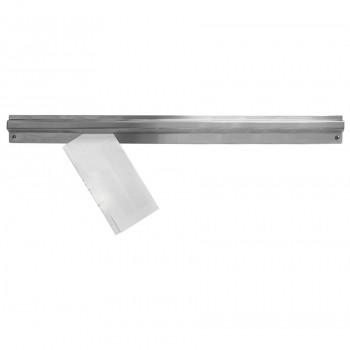 Porta Comanda / Display com Prendedor para Pedido em Aço Inox 120cm - Brascool Inox