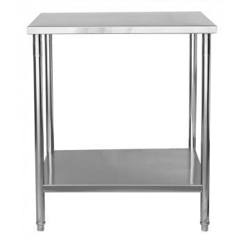 Perfil - Mesa / Bancada de Apoio 100% Aço Inoxidável - 1m (100x70x90cm) - BR-100S