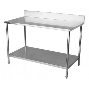 Perfil - Mesa para Manipulação 100% Aço Inoxidável com Espelho - 1,5m (150x70x90cm) - BR-150C
