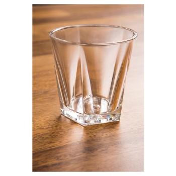 Copo para Drink 150ml na mesa (7,2x7,2 cm) de Policarbonato - Brascool (JD-6608)