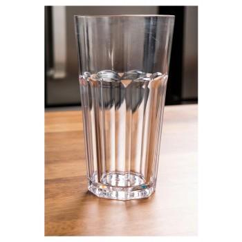 Copo para Drink 550ml mesa (9x16 cm) de Policarbonato - Brascool (JD-6631)