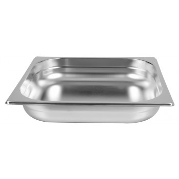 Cuba Gastronômica Aço Inoxidável para Buffet GN 2/3×65mm (353x325mm) - 823-2