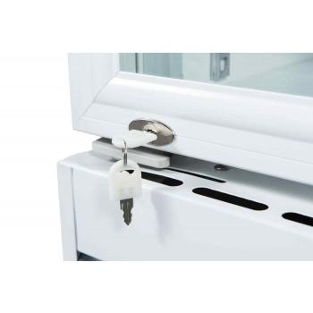 Fechadura- Geladeira / Refrigerador Expositor Porta de Vidro 260 Lts (Visa Cooler) - LG-260
