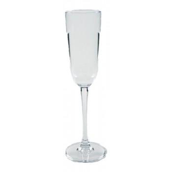 Taça para Champanhe 200ml em Policarbonato (24,5x5,8 cm) - Brascool (JD-6657)