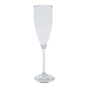 Taça para Champanhe 150ml em Policarbonato (22x6 cm) - Brascool (JD-6654)