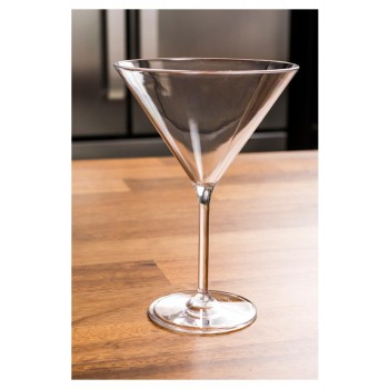 Taça cozinha para Cocktail 250ml em Policarbonato (17x11,7 cm) - Brascool