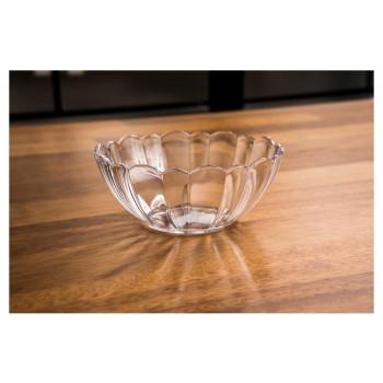 Tigela de Salada 350 ml (13x5,5 cm) em Policarbonato na mesa - Brascool (JD-2960)