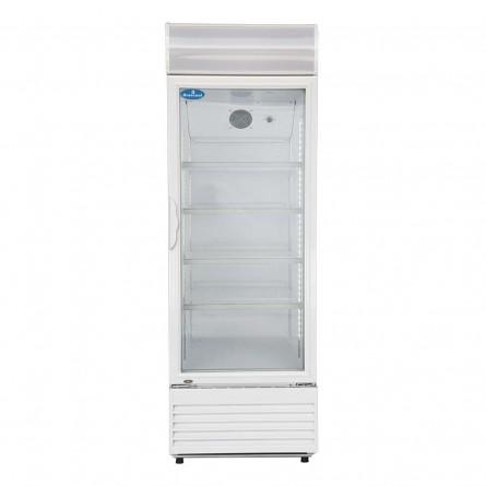 Frontal -  Geladeira / Refrigerador Expositor Porta de Vidro 310 Lts (Visa Cooler) - LG-310
