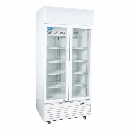 Fechada - Refrigerador / Geladeira Expositora Porta de Vidro 600 Lts (Visa Cooler) - LG-600